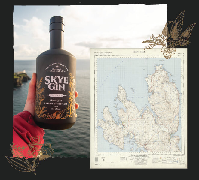 Born and Bottled only on the Isle of Skye